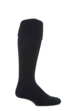Scott Nichol Shetland Wool Rib Shooting Socks