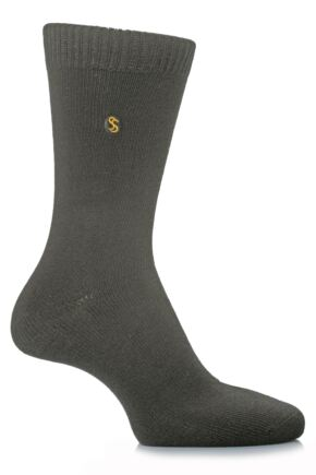 Mens 1 Pair SockShop Colour Burst Cotton Sock In 24 Colours