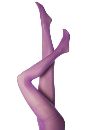 Ladies 1 Pair Elle 40 Denier Opaque Tights - Sale