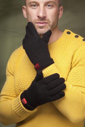 Mens 1 Pair SockShop Heat Holders Gloves