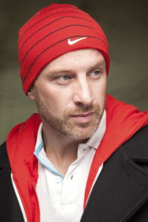 Mens and Ladies Nike Knit Beanie Solid Reversible 75% OFF Red