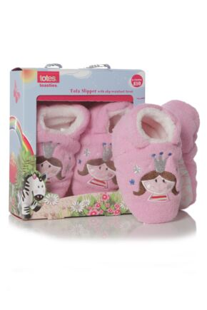 Girls 1 Pair Totes Tots Novelty Fairy Slippers 75% OFF Fairy 6-12 Months