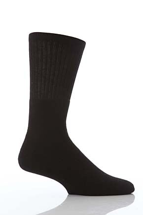 Mens 2 Pair Workforce Cushion Foot Cotton Work Socks In 3 Colours