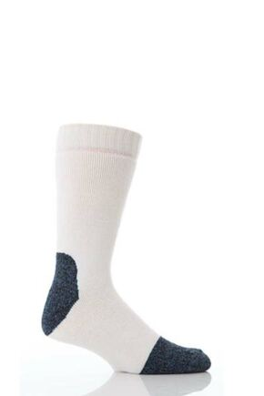 Mens 1 Pair Workforce Steel Safety Socks