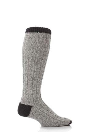 Mens 1 Pair Workforce Wool Rich Heavy Knee High Walking Socks