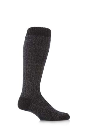 Mens 1 Pair Workforce Wool Rich Heavy Knee High Walking Socks