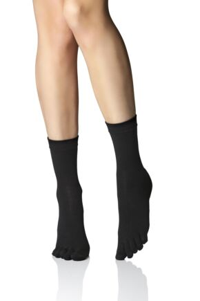 Ladies 1 Pair Iomi Footnurse Toe Socks