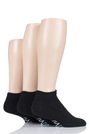 Mens 3 Pair Iomi Footnurse Cushioned Foot Diabetic Trainer Socks