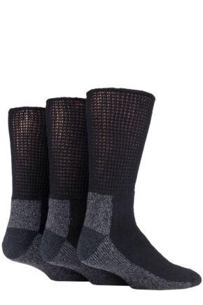 Mens 3 Pair Iomi Footnurse Workforce Diabetic Socks