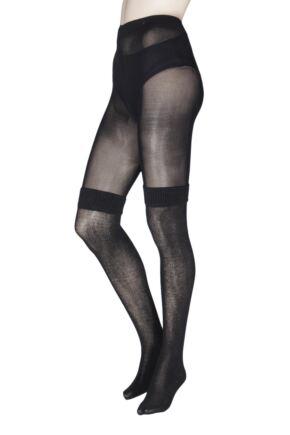 Ladies 1 Pair Jonathan Aston Boot Sock Tights