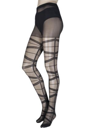 Ladies 1 Pair Jonathan Aston Blaze Banded Tights