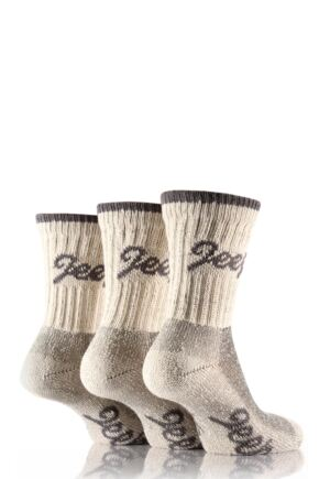 Ladies 3 Pair Jeep Luxury Terrain Socks