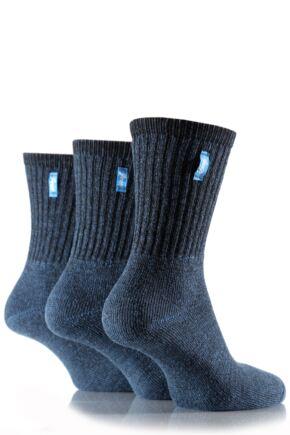 Ladies 3 Pair Jeep Vintage Socks