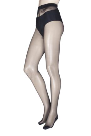 Ladies 1 Pair Jonathan Aston Lycra Seam and Heel Tight