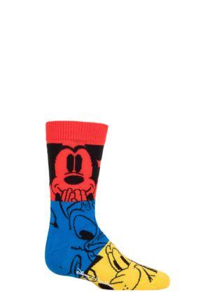 Kids 3 Pair Happy Socks Disney Colourful Friends Socks