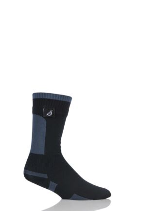 Mens and Ladies 1 Pair Sealskinz New Mid Weight Mid Length 100% Waterproof Socks