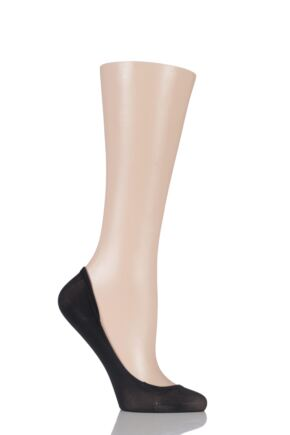 Ladies 1 Pair Trasparenze Kir Sheer Footlet