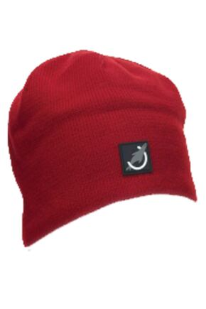 Mens and Ladies Sealskinz Beanie Hat 100% Waterproof and Fleece Lined Red SM