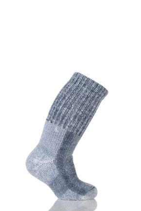 Kids 1 Pair Thorlos Outdoor Moderate Cushion Socks With Thorlon Navy 12.5-3