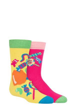 Kids 2 Pair Happy Socks Sugar Rush Socks