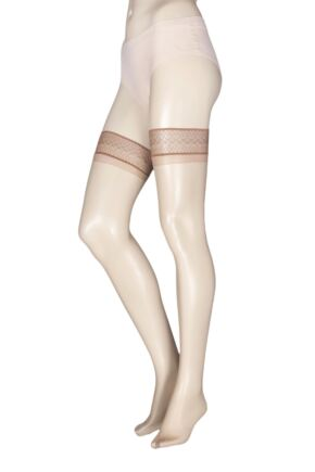 ca668aef9b6 Ladies 1 Pair Charnos 7 Denier Simply Bare Hold Ups