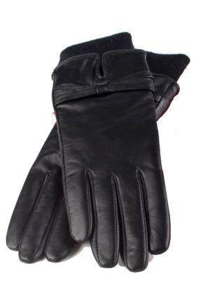 Ladies 1 Pair Heat Holders Leather Gloves 1.2 TOG
