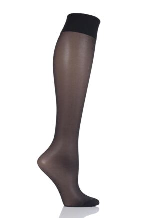 Ladies 1 Pair Levante Energia Medium Compression Knee Highs