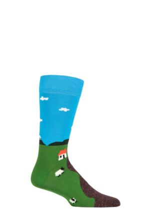 Happy Socks 1 Pair Little House On The Moorland Socks