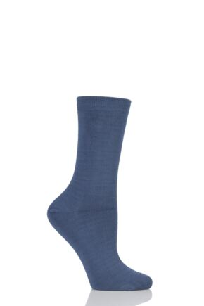Ladies 1 Pair Thought Solid Jackie Bamboo and Organic Cotton Socks