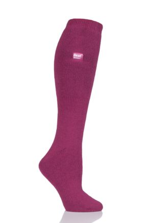 Ladies 1 Pair Heat Holders 1.6 TOG Lite Knee High Socks