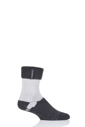 Mens 1 Pair Heat Holders Lounge Lite Socks