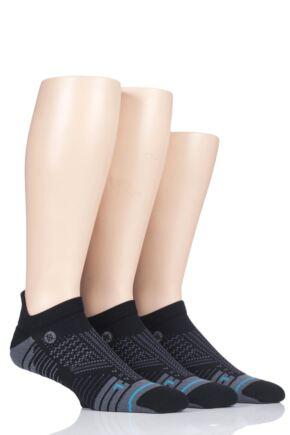 Mens 3 Pair Stance Train Tab Training Trainer Socks