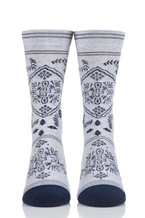 Mens 1 Pair Stance Bandero Cotton Socks