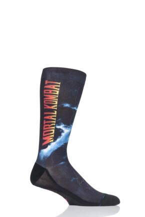 Mens 1 Pair Stance Mortal Kombat II Socks
