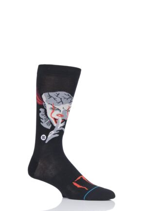 Mens 1 Pair Stance IT Pennywise Socks