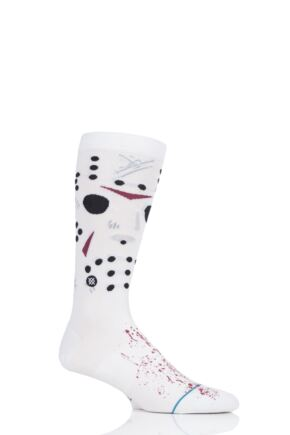 Mens 1 Pair Stance Friday the 13th Jason Socks