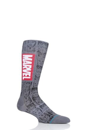 Mens 1 Pair Stance Marvel Icons Cotton Socks