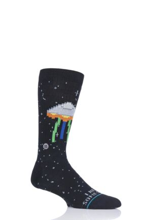 Mens 1 Pair Stance I Need Some Space Cotton Socks