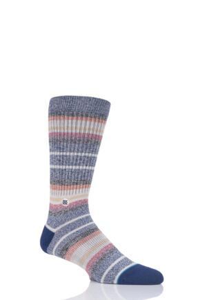 Mens 1 Pair Stance Thirri Cotton Socks