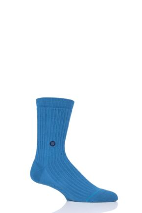 Mens 1 Pair Stance Icon Heavy Cotton Socks