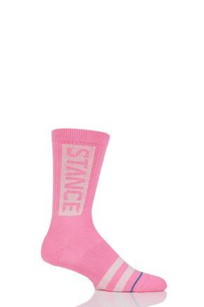 Mens and Ladies 1 Pair Stance OG Stance Logo Cotton Socks
