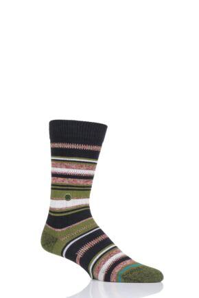 Mens 1 Pair Stance Ernesto Cotton Socks
