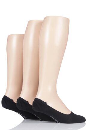 64b77595278 Mens 3 Pair Pringle Black Label Bamboo Loafer Socks