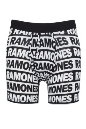 Mens 1 Pack Stance The Ramones Boxer Brief with Wholester
