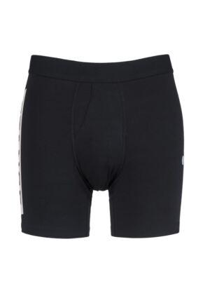 Mens 1 Pair Stance OG Stance Logo Boxer Brief Black Extra Large