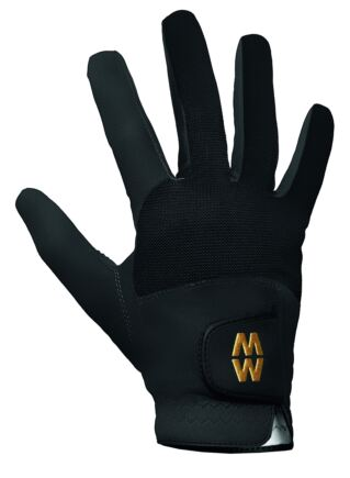 Mens and Ladies 1 Pair MacWet Short Mesh Sports Gloves