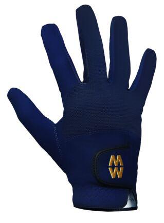 Mens and Ladies 1 Pair MacWet Short Mesh Sports Gloves