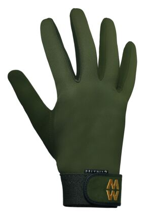 Mens and Ladies 1 Pair MacWet Long Climatec Sports Gloves Green 9.5