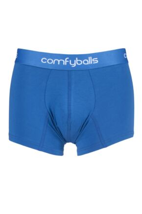 Mens 1 Pair Comfyballs Regular Cotton Boxer Shorts