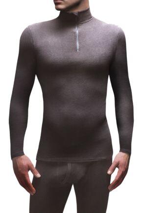Mens 1 Pack SOCKSHOP Heat Holders Microfleece Base Layer Long Sleeved Top